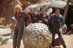 "Sigourney Weaver, Alan Rickman, Tim Allen and Tony Shalhoub in ""Galaxy Quest,"" 1999 Best Sci Fi Movie, Sci Fi Movies, Great Movies, Movies To Watch, Movie Tv, Excellent Movies, Awesome Movies, Awesome Stuff, Alan Rickman"