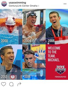 Michael Phelps has 3 gold medals in Rio so far! 3 races down, 3 to go. Go Michael!!