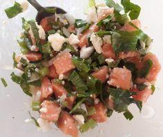 Pawpaw and feta salad | Inspirednourishment.wordpress.com