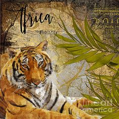 A Taste of Africa Tiger by Mindy Sommers