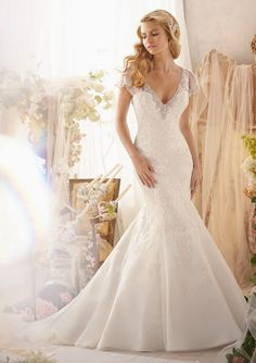 Mori Lee Bridal Gown Style - 2613