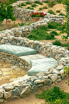 7 Astonishing Tips: Fire Pit Seating Pea Gravel fire pit wall fireplaces.Tabletop Fire Pit Home fire pit seating pea gravel. Landscaping With Rocks, Backyard Landscaping, Landscape Plans, Landscape Design, Paradise Valley Arizona, Fire Pit Gallery, Fire Pit Wall, Rustic Fire Pits, Fire Pit Materials