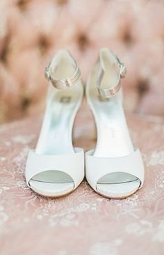 Wedding Shoes: Love these shoes by Anne Klein! via Photography by RACHEL SOLOMON and Magnolia Rouge