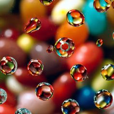 rainbow water drops #photography is beautiful!