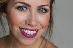 Makeup Monday   Berry Lip & Smokey Eye   #LivingAfterMidnite