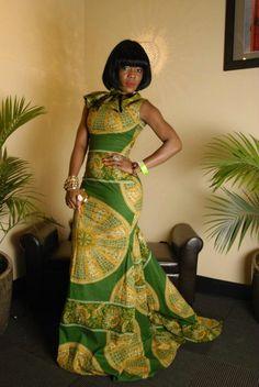 My goodness, this is gorgeous #ItsAllAboutAfricanFashion #AfricaFashionLongDress #AfricanPrints #kente #ankara #AfricanStyle #AfricanFashion #AfricanInspired #StyleAfrica #AfricanBeauty #AfricaInFashion