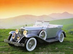 1931 Bentley Eight Liter Convertible Coupe