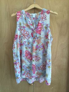 06102d7f5 NWOT Tabitha Webb Tunic Blouse Floral XL High/Low #fashion #clothing #shoes