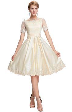 Piękna wieczorowa sukienka satynowa wizytowa beżowa