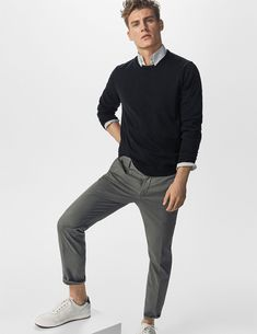 25 Office Outfits To Boss This Summer 25 Office Outfits Summer Work Outfits, Office Outfits, Casual Outfits, Men Casual, Mens Casual Work Clothes, Mens Sweater Outfits, Smart Casual Menswear, Men Clothes, Skirt Outfits