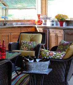 Wicker Seating Group. Pinned by www.wickerparadise.com Wicker Chairs, Rattan, Curb Appeal, Fathers, Sweet Home, Traditional, Group, Outdoor Decor, Furniture