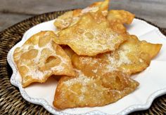i crostoli della nona My Recipes, Mexican Food Recipes, Sweet Recipes, Dessert Recipes, Spanish Desserts, Spanish Dishes, Colombian Cuisine, Salvadorian Food, Venezuelan Food