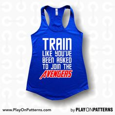 Train like you've been asked to join the avengers by POPAPPAREL, $17.99