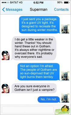 Saving the world, and conversations. Dc Comics Funny, Marvel Funny, Marvel Memes, Dc Comics Superheroes, Marvel Dc Comics, Marvel Avengers, Dc Memes, Funny Memes, Batfamily Funny