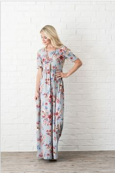 The Everyday Maxi -- Woodrose, S.  Too frumpy?