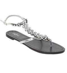 simple silver sandals $21.90