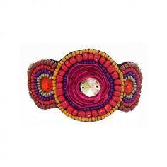 les bracelets ethno color - Sautoir Fantaisie Color