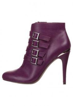Boots à talons - lilas