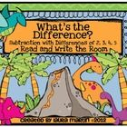 What's the Difference subtraction read & write the room