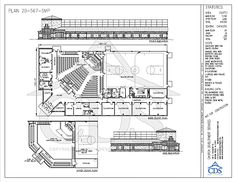 Simple church building plans church plan 120 lth for Church floor plans free