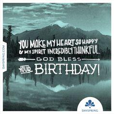God Bless Your Birthday - http://dayspri.ng/862