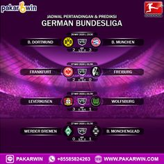 Frankfurt, Game Live, Live Casino, Slot Online, Wolfsburg, Freiburg, Dortmund