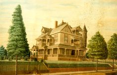 Our History In Pictures | Downtown Shreveport  Amazing surviver, the Weiner Ogilvie Mansion c.1896 ( later the Florentine Supper Club). Though much altered in appearance and abandoned still standing on Austin place as of Jan.2014