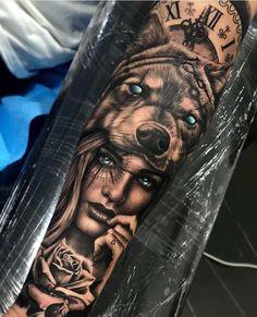 B&G Tattoo Artwork Artist IG: tattoo mann vorlagen skull Tiger Tattoo Sleeve, Tattoo Arm Frau, Forearm Sleeve Tattoos, Best Sleeve Tattoos, Tattoo Sleeve Designs, Forarm Tattoos, Skull Tattoos, Leg Tattoos, Body Art Tattoos