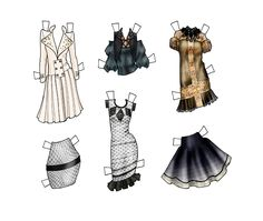 Fashion Paper Dolls | final fashion » paper doll – Lucian Matis Fall 2010