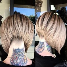 This undercut ✂️✂️ stacked Bob tho.... @sydniiee