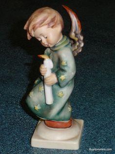 "LARGE ""Heavenly Angel"" Goebel Hummel Figurine #21/0 TMK5 Lot $0.99 Starting Bid!"