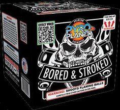 Bored & Stroked 12 Shot | NCI, Inc. Indiana Fireworks Wholesale