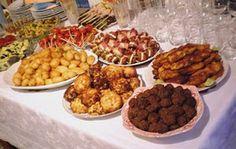 Μπουφές για την ονομαστική μου εορτή Baby Party Foods, Party Finger Foods, I Party, Party Ideas, Greek Recipes, Picnic, Beef, Cheese, Cooking