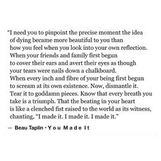 You made it. • my brand new book, Bloom is available via the link on the home page xo Love Beau