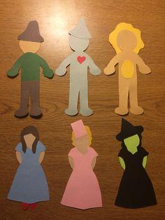 Wizard of Oz door decs.