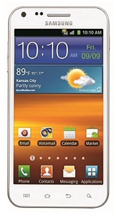 Samsung Epic 4G Touch Galaxy S II No Contract 8MP Android Smartphone - White Sprint Samsung http://www.amazon.com/dp/B008DGSODI/ref=cm_sw_r_pi_dp_MCyivb10GYRDR