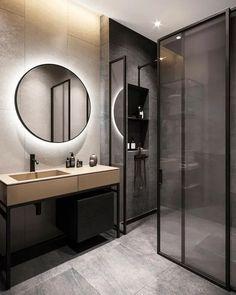 44 magnificient scandinavian bathroom design ideas that looks cool 32 Best Bathroom Designs, Modern Bathroom Design, Bathroom Interior Design, Home Interior, Bathroom Ideas, Small Bathroom Redo, Small Bathroom With Shower, Scandinavian Bathroom Design Ideas, Grey Home Decor