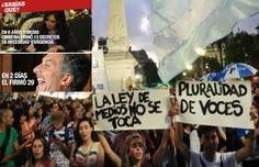 """Piedra On Line.-: Macri decretó el fin de la Ley de Medios y """"liberó..."""