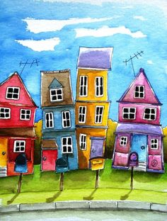 Little neighborhood near Chicago - Lucia Stewart