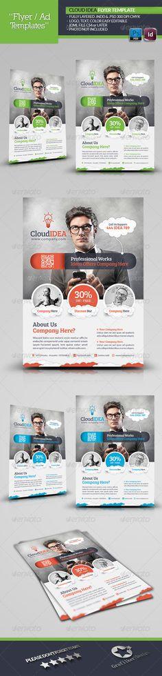 Cloud Idea Flyer Template 1