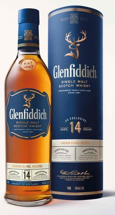 The Glenfiddich makes a nice gift for your whisky connoisseur friend.