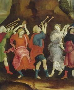 The Concert: danse Et Chanson about 1457 - 1504, National Gallery London