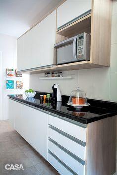Cozinha organizada e acessível a toda a família - Casa