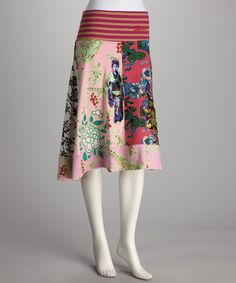 Desigual Pink News skirt, via Zulilly