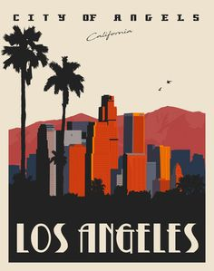 Hollywood Discover Most up-to-date No Cost Los Angeles California Vintage Style Travel Poster (Crea. - Most up-to-date No Cost Los Angeles California Vintage Style Travel Poster (Cream) Strategies - Art Deco Posters, Room Posters, Poster Wall, Poster Prints, Poster City, Bedroom Wall Collage, Photo Wall Collage, Picture Wall, Ps Wallpaper