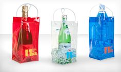 Groupon - $ 8.99 for a Bottle On Ice Wine Bag 3-Pack  ($ 24.27 List Price). Free Returns.. Groupon deal price: $8.99