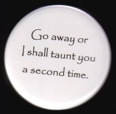 Second Taunt Button by kohaku16 on Etsy, $3.00