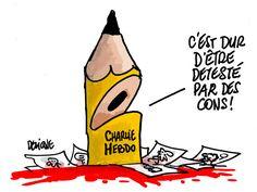 Charlie Hedbo: L'hommage de Frédéric Deligne