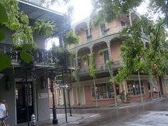 in the New Orleans French Quarter....this what I love about New Orleans!