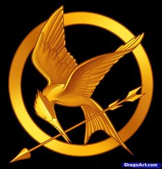 the hunger games | How to Draw Hunger Games, the Hunger Games Logo, Step by Step, Symbols ...